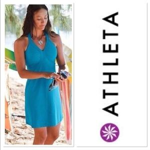 Athleta Swim Dress in Kauai Blue | Medium